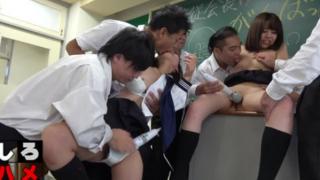 Sex học sinh chịch nhau không che câu chuyện muôn thuở ở trong lớp học Nhật Bản